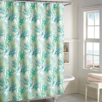 Ursula Shower Curtain in Teal