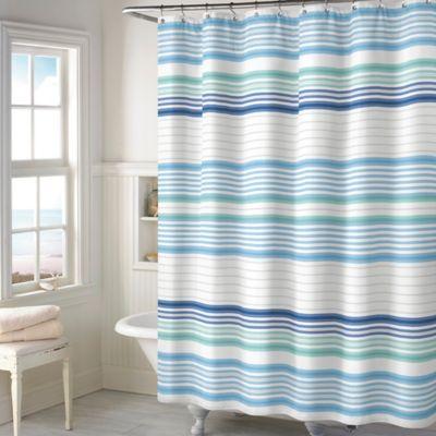 Beacon Stripe Shower Curtain