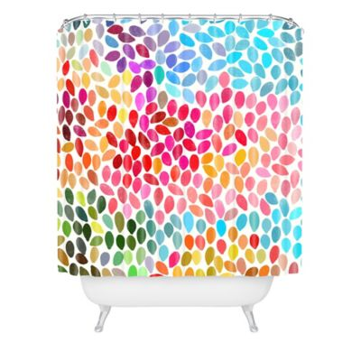 DENY Designs Garima Dhawan Rain 6 Shower Curtain
