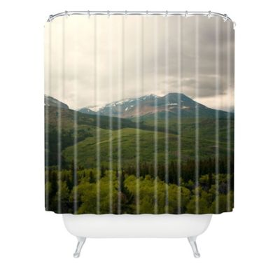 DENY Designs Catherine McDonald Wild Montana Shower Curtain