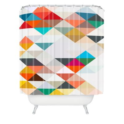 71 gray Fabric Shower Curtain