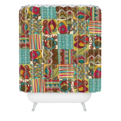 DENY Designs Valentina Ramos Like Quilt Shower Curtain