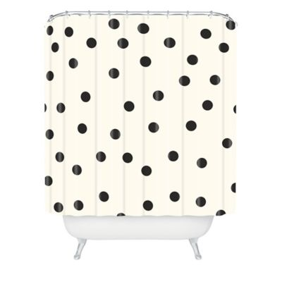 Classic Polka Dot Shower Curtain