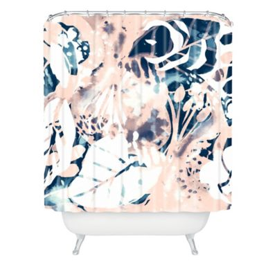 DENY Designs Cayenablanca Jungle Memoirs Shower Curtain