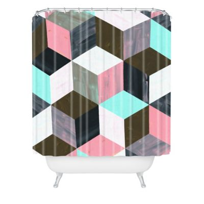 DENY Designs Dash and Ash The Run Away Shower Curtain