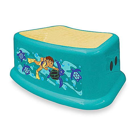 Go diego go step stool by ginsey bed bath beyond for Go diego go bedding