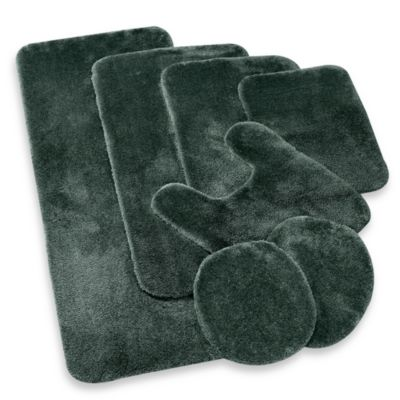 Wamsutta® Duet 2-Foot x 5-Foot Bath Rug in Forest
