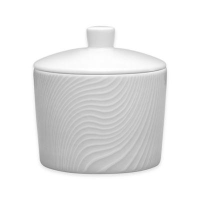 Noritake® White on White Dune Sugar Bowl