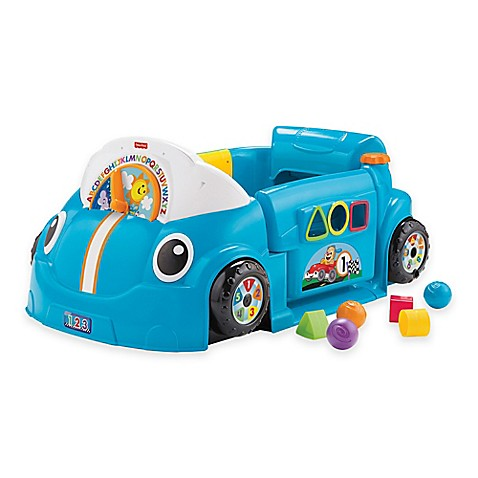 fisher price laugh learn crawl around car in blue. Black Bedroom Furniture Sets. Home Design Ideas