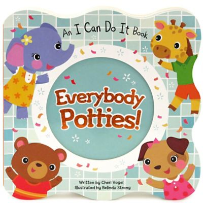 """Everybody Potties: I Can Do It"" Board Book by Cheri Vogel"