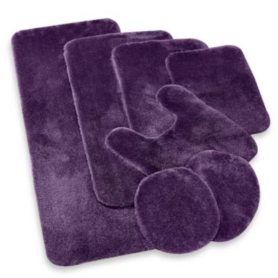 Wamsutta® Duet 2-Foot x 5-Foot Bath Rug in Iris