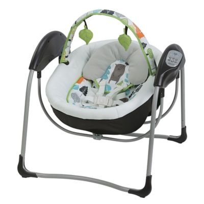 Graco® Glider Lite™ Gliding Swing in Bear Trail