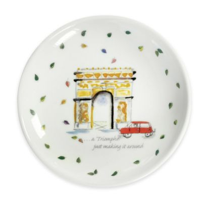 Boston International Olive Branch Arc de Triomphe Dipping Dish