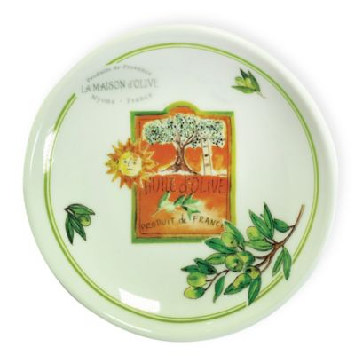 Boston International Olive Branch Olive Tree Dipping Dish