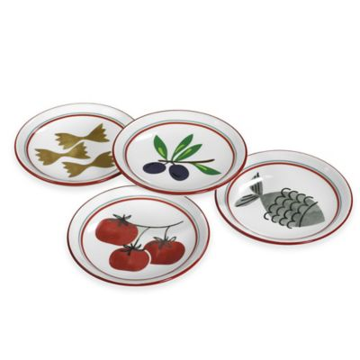 Boston International Antipasto Dipping Dishes (Set of 4)