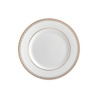 Waterford® Lismore Diamond Gold Bread and Butter Plate