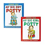 My Big Boy Potty and My Big Girl Potty Books by Joanna Cole