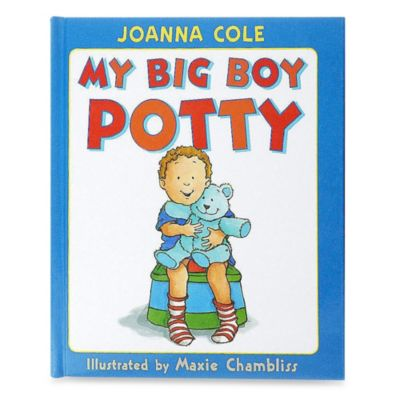 My Big Boy Potty Book by Joanna Cole