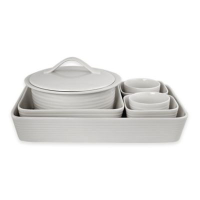 Gordon Ramsay by Royal Doulton® Maze 7-Piece Bakeware Set in White