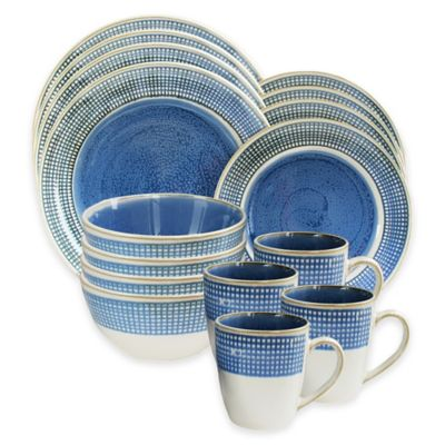 American Atelier Clara 16-Piece Dinnerware Set