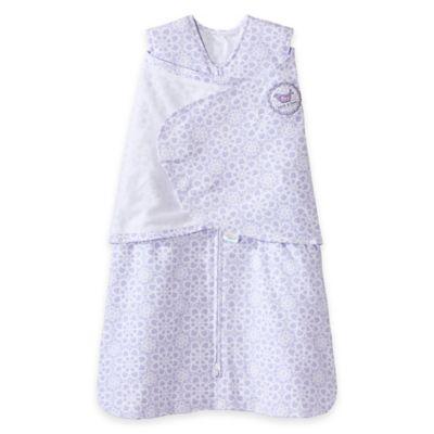 HALO® Size Small SleepSack® Lilac Lace 2-in-1 Adjustable Swaddle