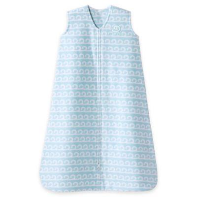HALO® SleepSack® Medium Wave Fleece Wearable Blanket in Aloe