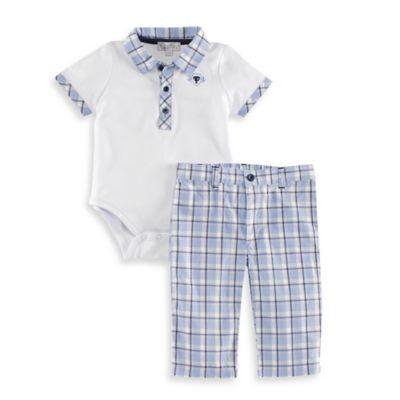 Quiltex Bodysuit and Pant Set