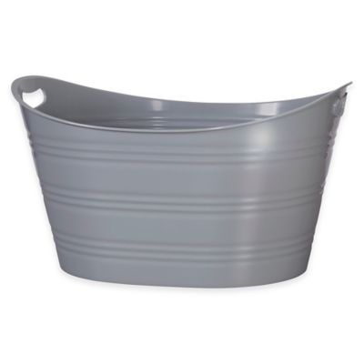 Creative Bath™ Storage Tub in Grey