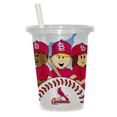 Baby Fanatic® MLB St. Louis Cardinals 3-Pack 10 oz. Sip & Go Cup with Straw