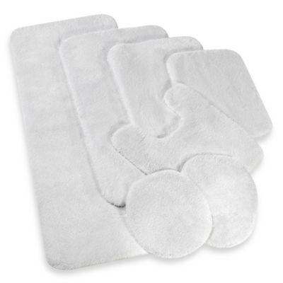 Wamsutta® Duet White Bath Rug