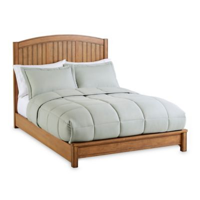 Sealy® Bristol Full Size Bed Rails in Sandstone