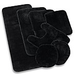 Wamsutta® Duet 2-Foot x 5-Foot Bath Rug in Ebony