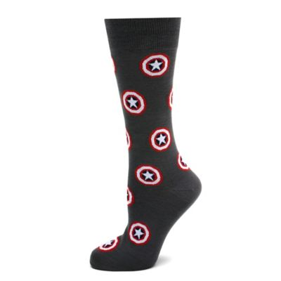 Marvel® Captain America Repeat Socks in Grey