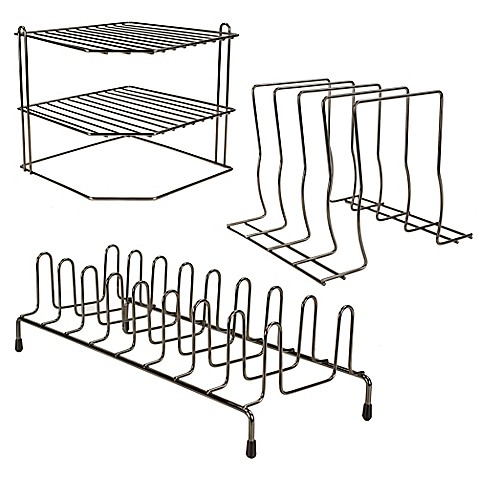 Home Basics® Wire Cabinet Organizer Collection
