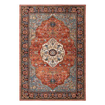 Karastan Spice Market Petra 5-Foot 3-Inch x 7-Foot 8-Inch Multicolor Area Rug
