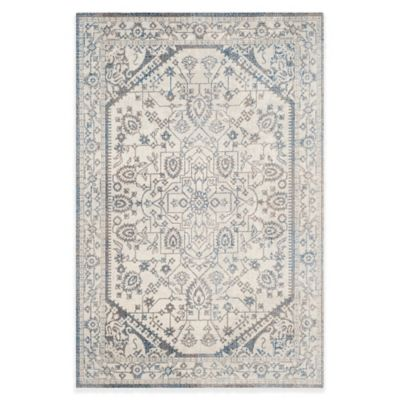Safavieh Patina Ross 5-Foot 1-Inch x 7-Foot 6-Inch Area Rug in Grey/Blue