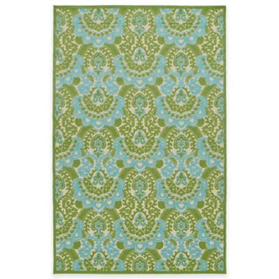 Kaleen Five Seasons Imperial 8-Foot 8-Inch x 12-Foot Indoor/Outdoor Area Rug in Blue