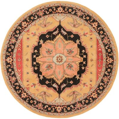 Artistic Weavers Middleton Mia 8-Foot Round Area Rug in Red
