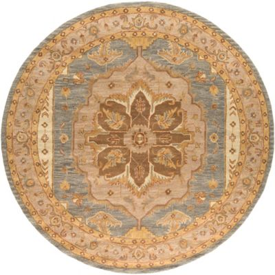 Artistic Weavers Middleton Mia 8-Foot Round Area Rug in Brown