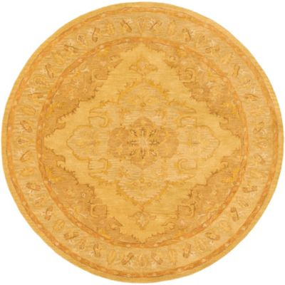 Artistic Weavers Middleton Meadow 8_Foot Round Area Rug in Tan