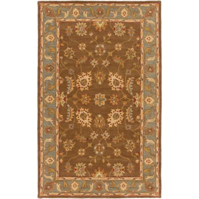 Artistic Weavers Middleton Emerson 8-Foot Round Area Rug in Brown