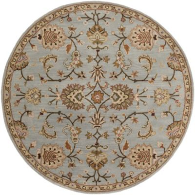 Artistic Weavers Middleton Mallie 3-Foot 6-Inch Round Rug in Light Blue