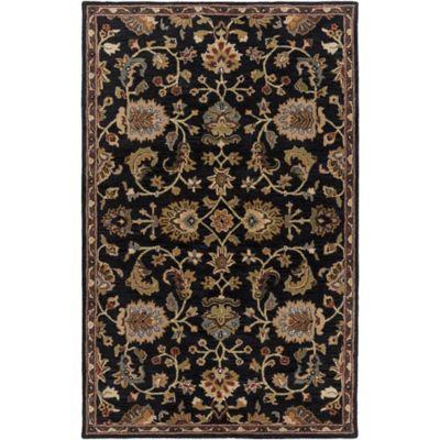 Artistic Weavers Middleton Mallie 6-Foot x 9-Foot Area Rug in Black