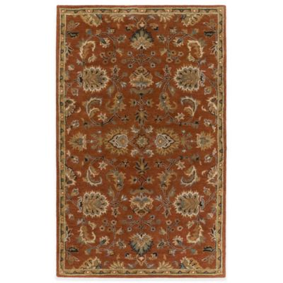 Light Rust Area Rugs