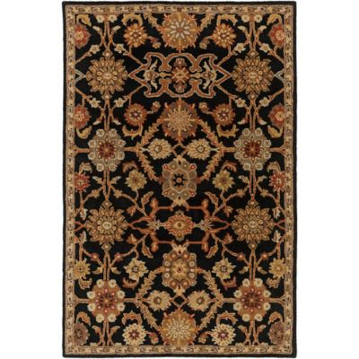 Artistic Weavers Middleton Victoria 6-Foot x 9-Foot Area Rug in Black