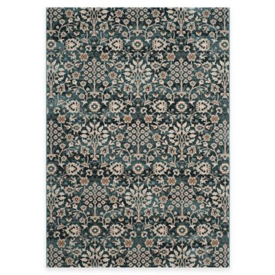 Safavieh Serenity Viola 2-Foot 3-Inch x 3-Foot 9-Inch Accent Rug in Turquoise/Cream