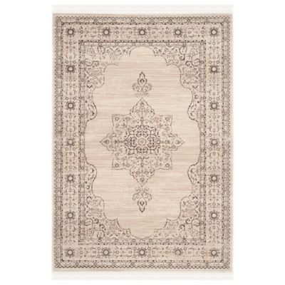 Safavieh Serenity Toby 8-Foot x 10-Foot Area Rug in Cream/Gold