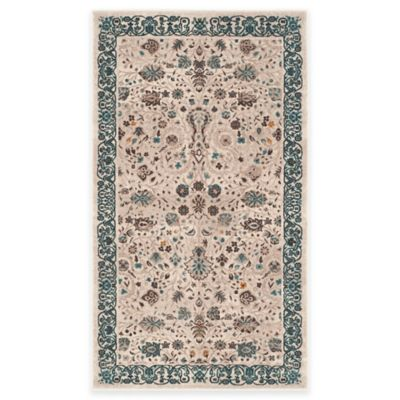 Safavieh Serenity Collection Licata 4-Foot x 6-Foot Area Rug in Beige/Blue