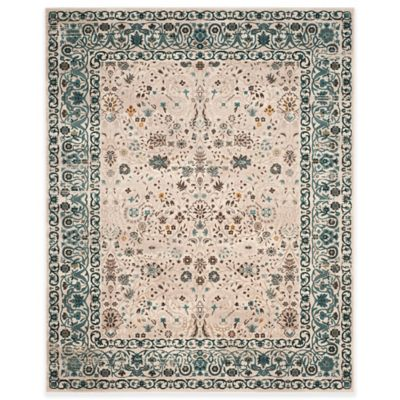 Safavieh Serenity Collection Licata 8-Foot x 10-Foot Area Rug in Beige/Blue