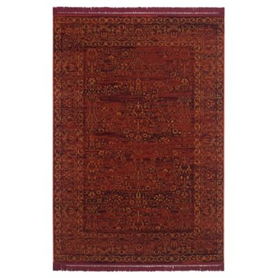Safavieh Serenity Collection Bianca 8-Foot x 10-Foot Area Rug in Ruby/Gold